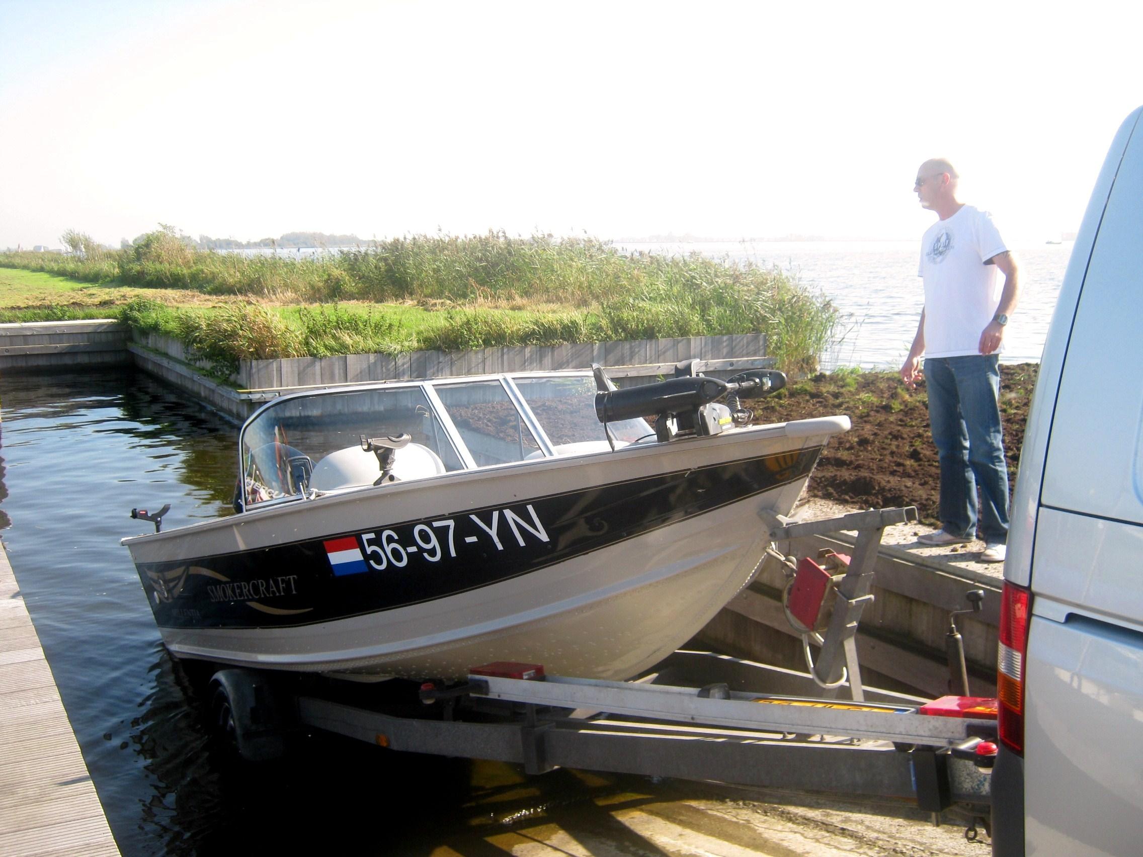 2Trailerhelling voor uw meegebrachte boot